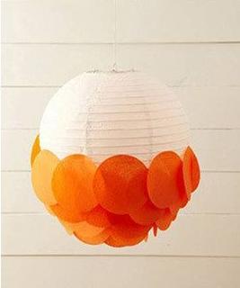 DIY lampions en papier