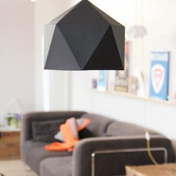 lampe géométrique geoball DIY
