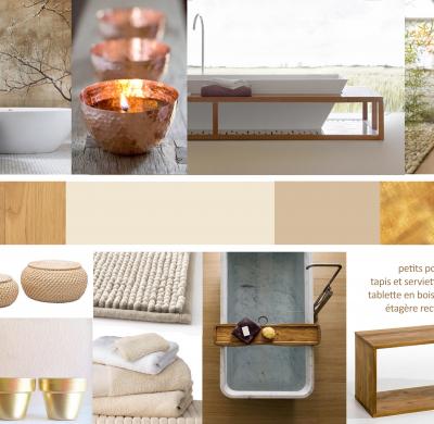 Projet #1 – Salle de bain, ambiance douce & apaisante