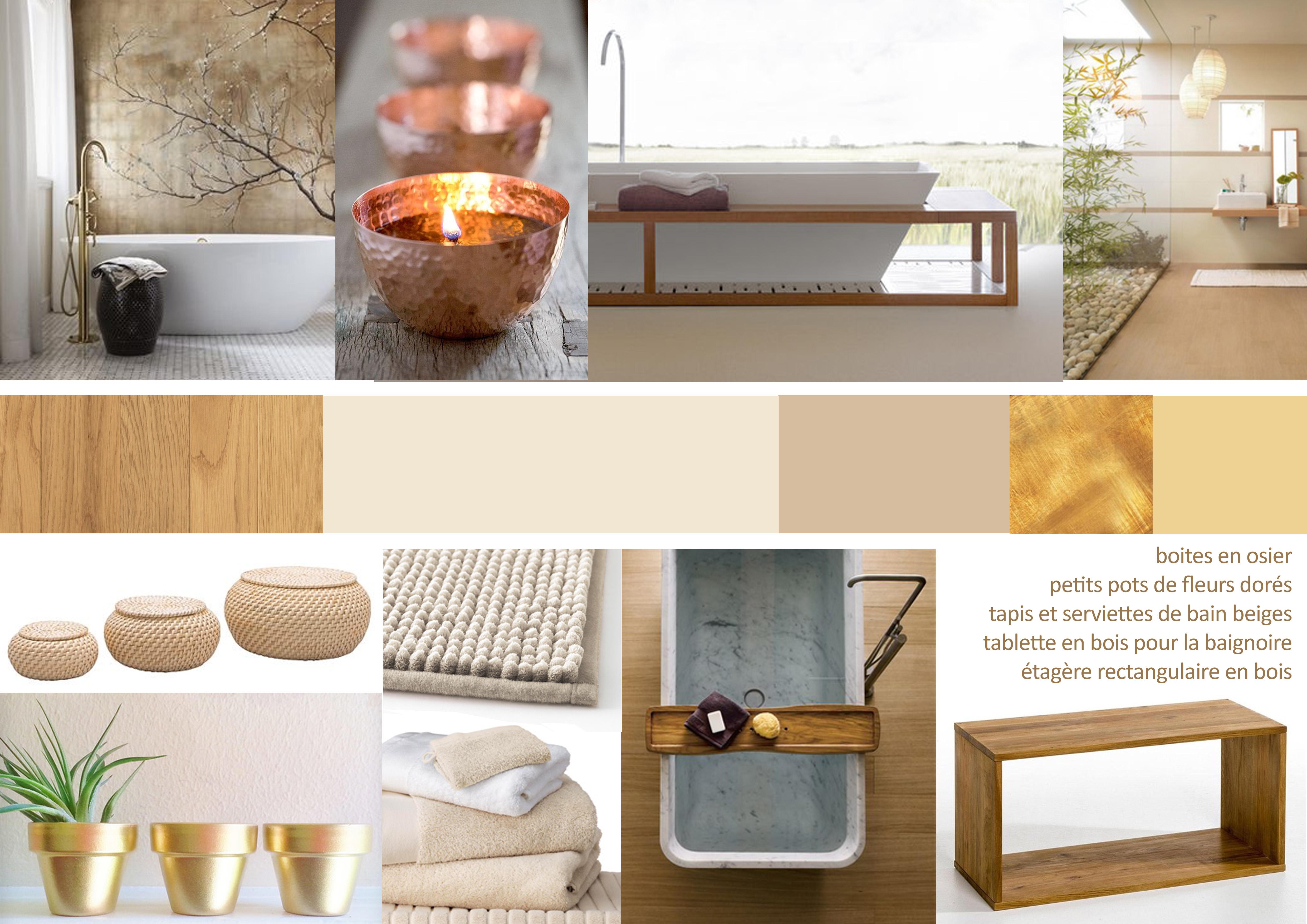 inspiration pour une salle de bain apaisante