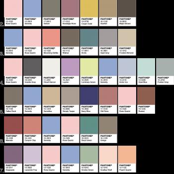 comment associer Rose Quartz et Serenity en design d'intérieur