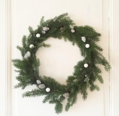DIY #13 – Une couronne de Noël en sapin