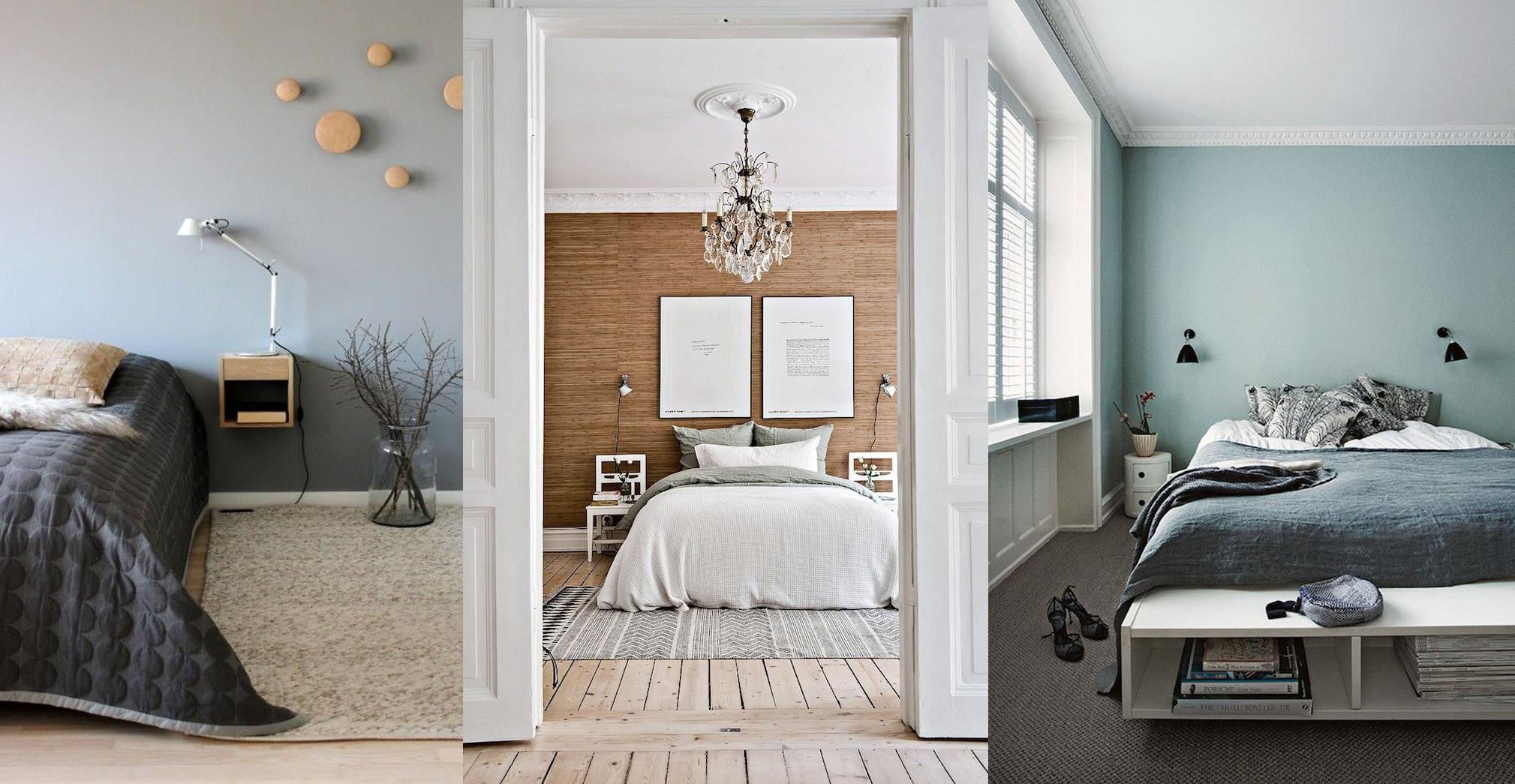 couleurs douces pour une chambre
