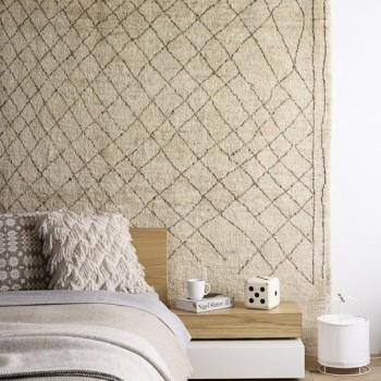 tapis au mur