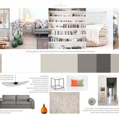 Projet #5 – Appartement parisien, entre classique et contemporain