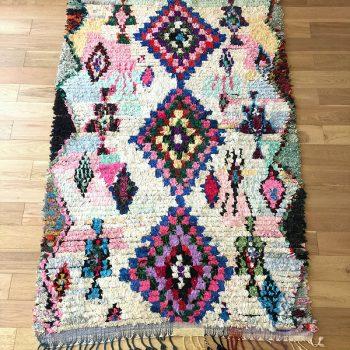 tapis boucherouite inspiration tapis berbere
