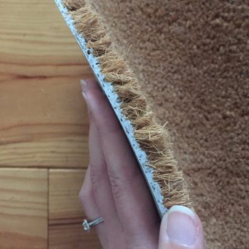 DIY paillasson nuage en fibres de coco