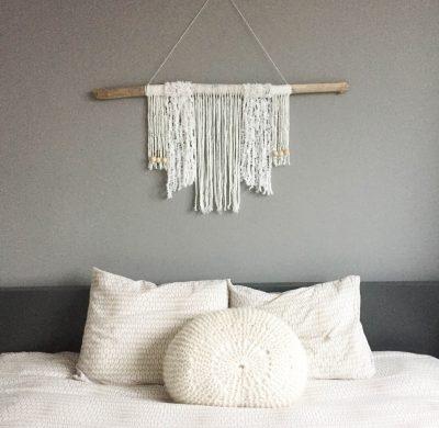 DIY #33 – Une déco murale en laine