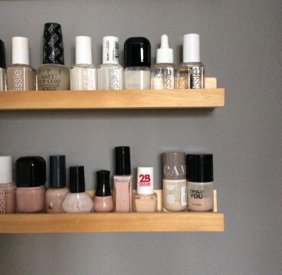 DIY #39 – Une étagère pour vernis à ongles