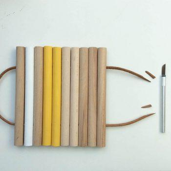 DIY dessous de plat dessous plat en bois