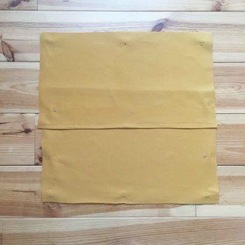 DIY housse de coussin enveloppe