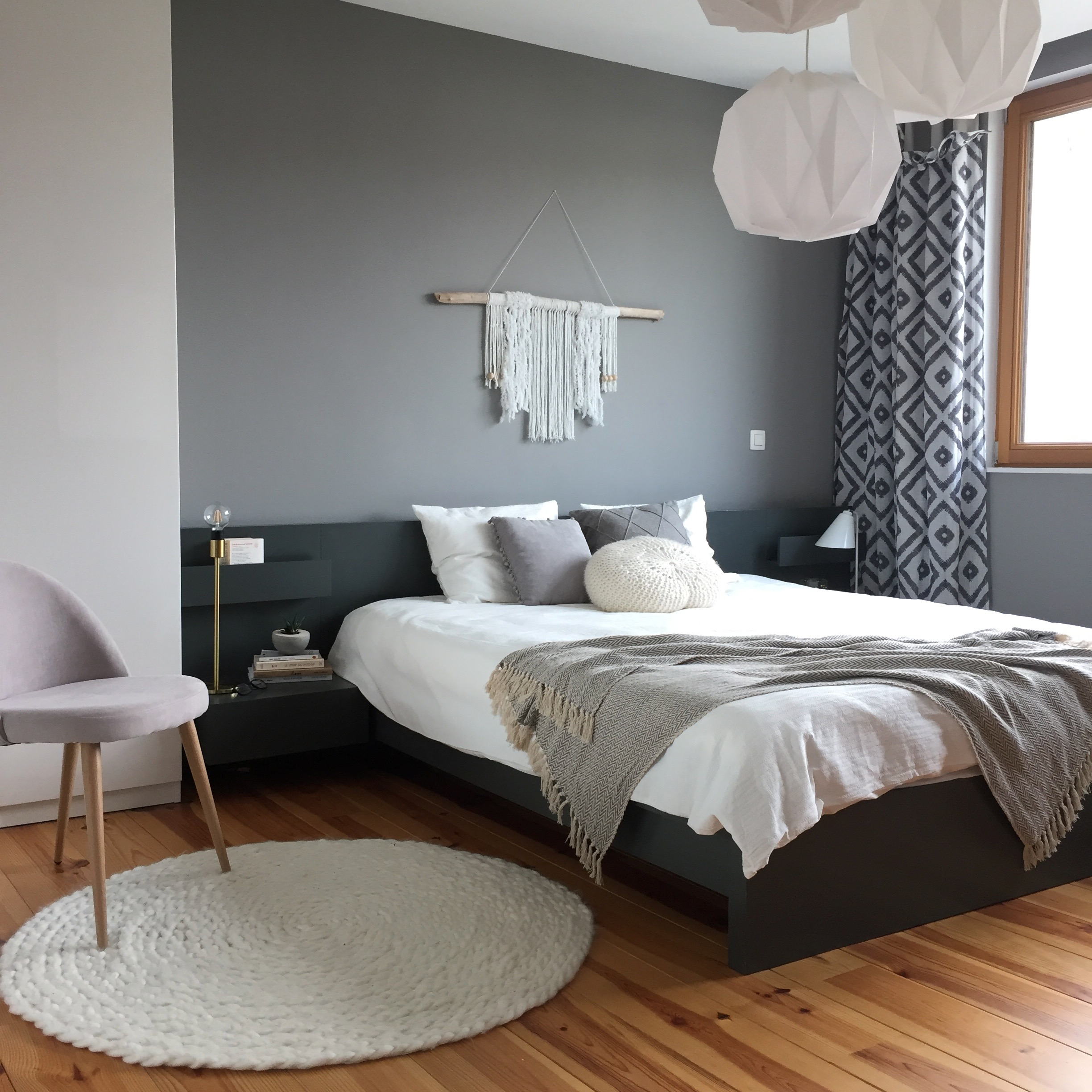 chambre beige et gris idee deco chambre adulte gris couleur de la peinture de la chambre adulte. Black Bedroom Furniture Sets. Home Design Ideas