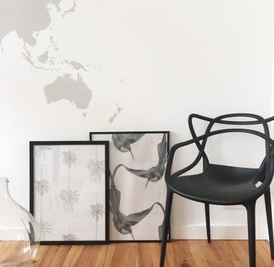 DIY #52 – Un tableau en papier peint