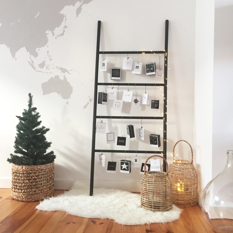 Calendrier De Lavent Deco.Diy 58 Calendrier De L Avent Au Look Scandinave Surprise
