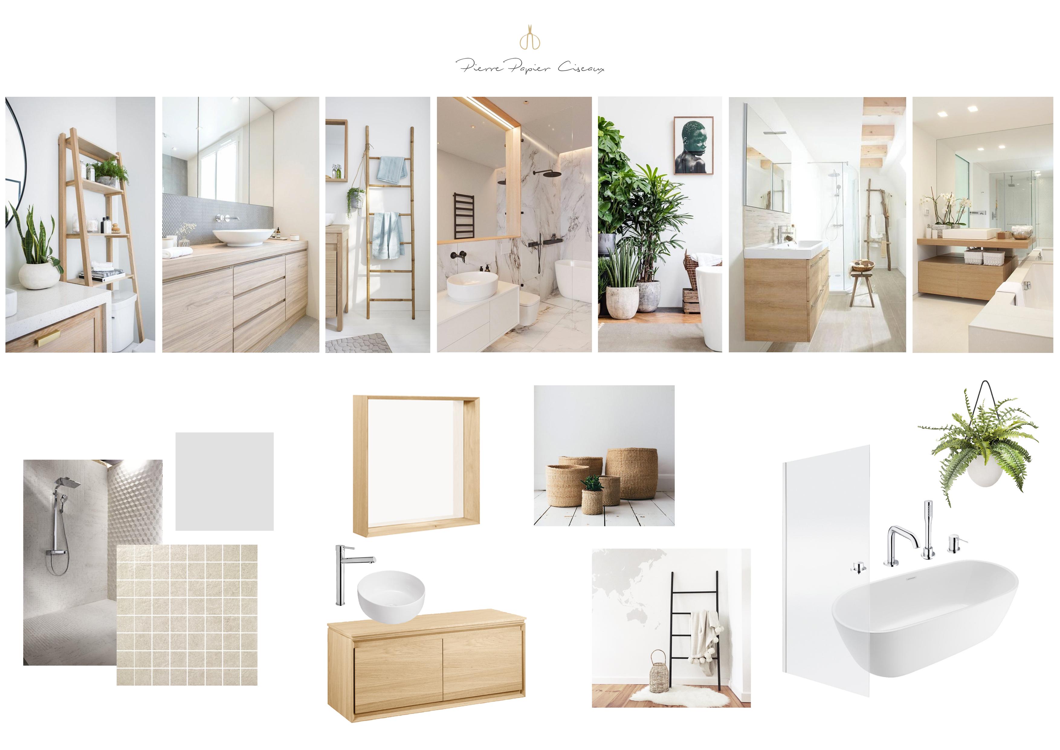Inspiration salle de bain : 3 moodboards pour 3 ambiances |