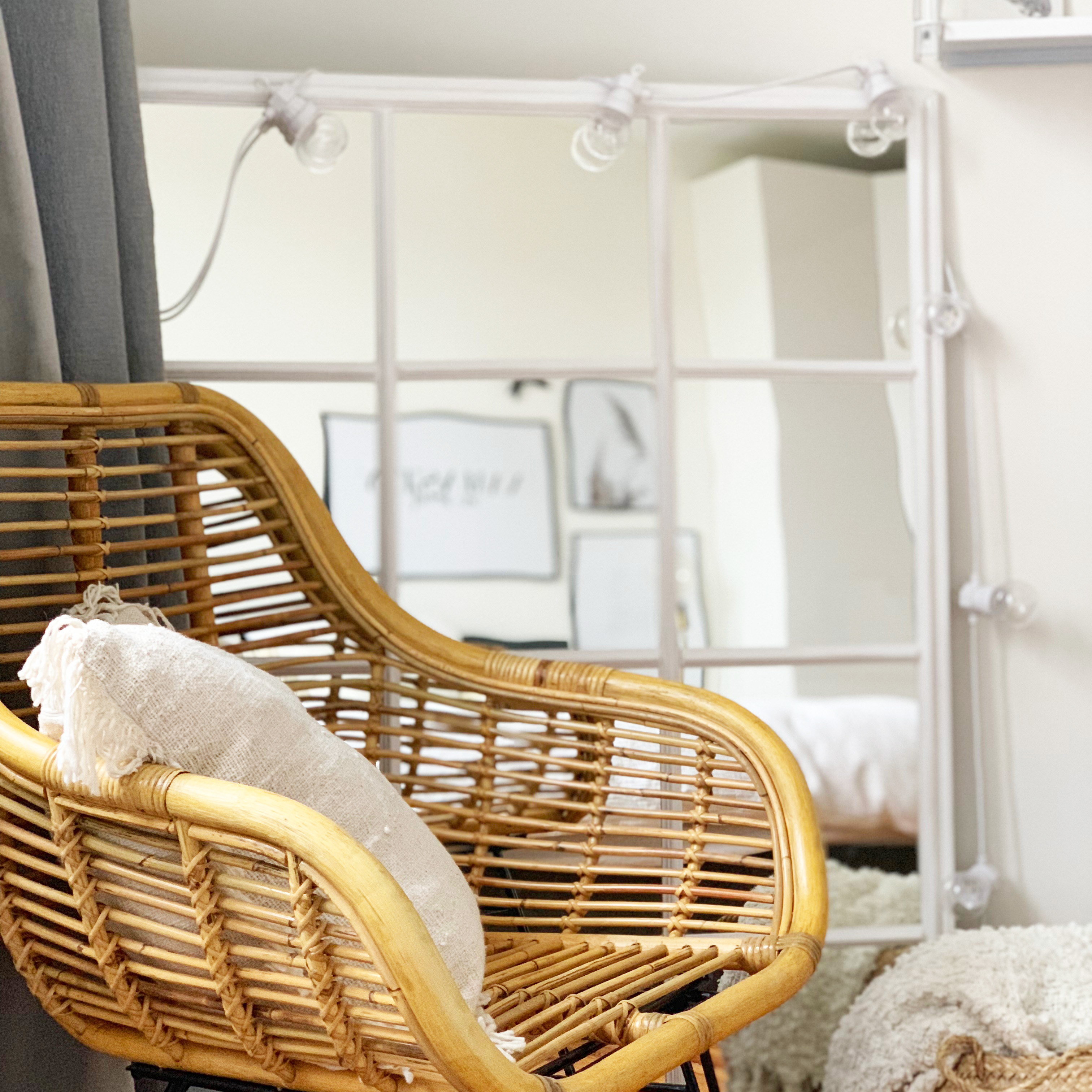 diy 68 un miroir verri re. Black Bedroom Furniture Sets. Home Design Ideas