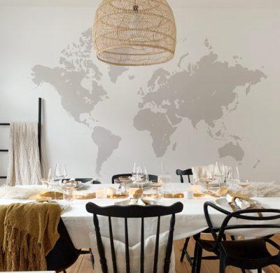 Une table de fête automne-hiver-bohème