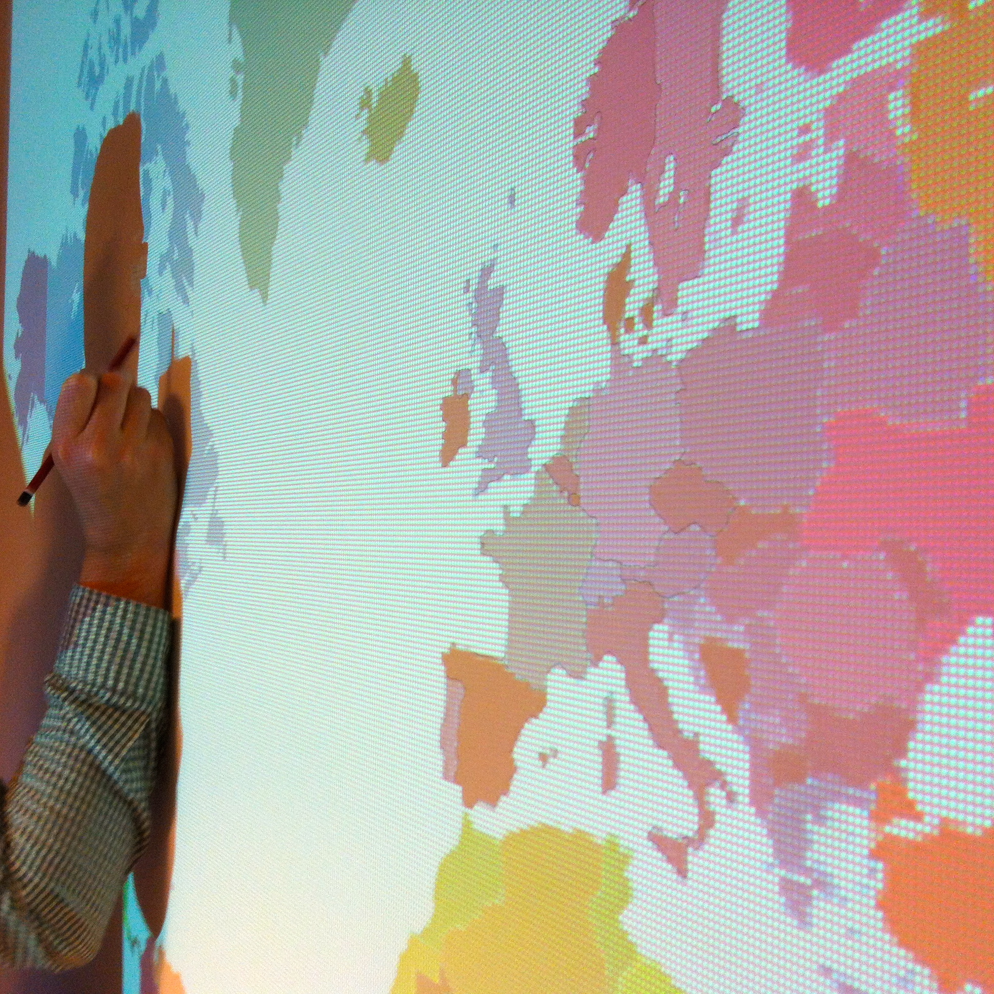 Deco Murale Mappemonde destiné diy #6 - une mappemonde murale | pierre papier ciseaux