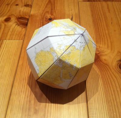 DIY #7 – Le globe en papier