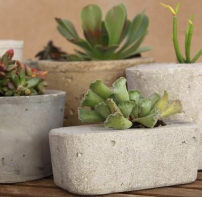 3 idées pour bricoler avec du ciment
