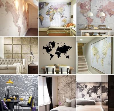 Le monde sur mon mur