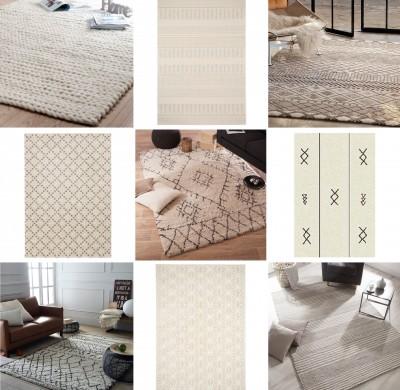 Un tapis beige pour ma chambre