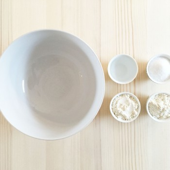 matériel pour réaliser bol en pate a sel