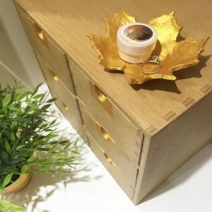 DIY étapes pour confectionner un bol en pate a sel en forme de feuille