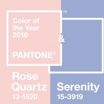couleurs pantone de l'année 2016