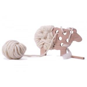 Woody le mouton à tricoter, idée cadeau DIY pour Noël