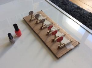 DIY clé vernis à ongles