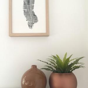 conseils pour peinture à la bombe : vase en verre