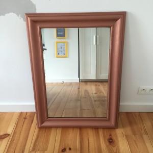 conseils pour peinture à la bombe : cadre miroir