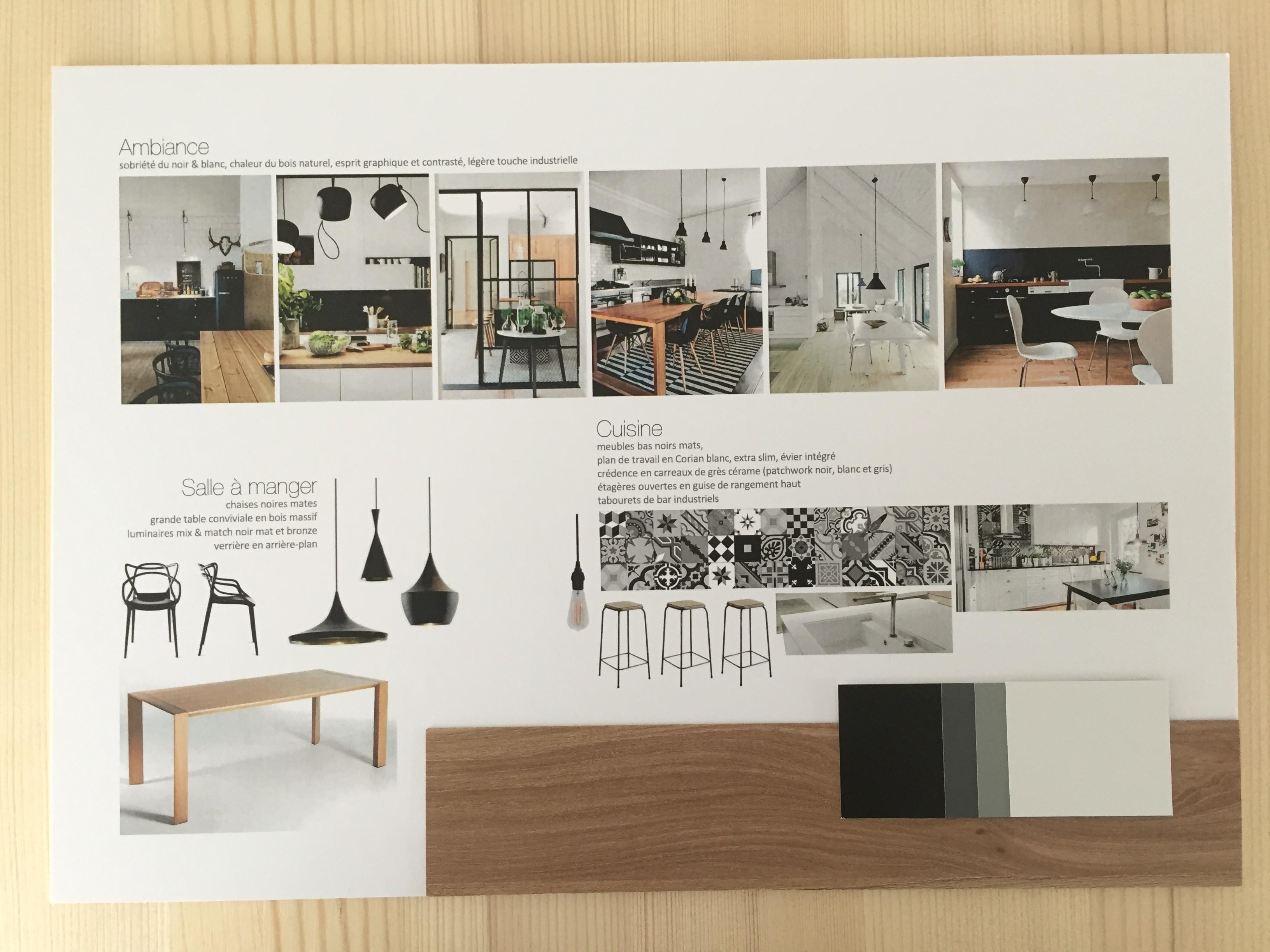 Plan De Travail Pour Faire Un Bureau projet déco #1 - appartement pour un couple, ambiance bohème