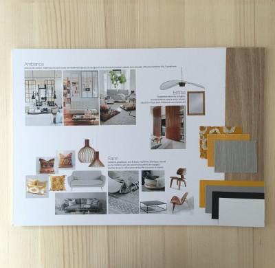 Projet #3 – Appartement pour un couple, ambiance bohème & design
