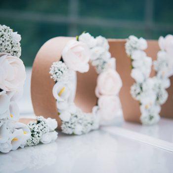 DIY #19 – Des lettres fleuries