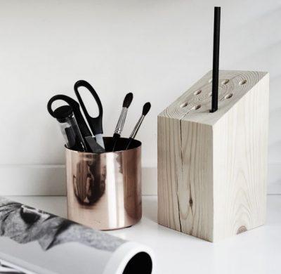 3 idées pour … se confectionner un pot à crayons