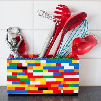 pot à crayon en Legos