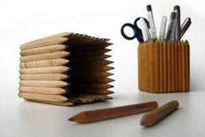 pot à crayon en crayons Ikea