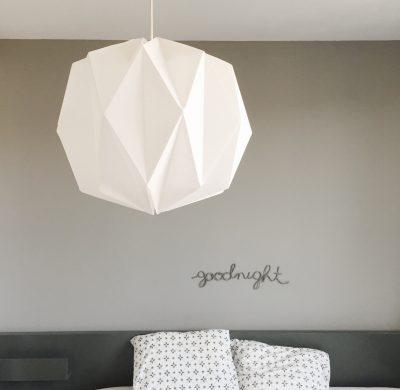 DIY #26 – Une lampe origami