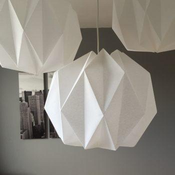 Luminaire origami