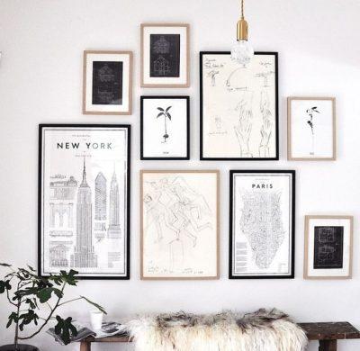 Réussir son gallery wall