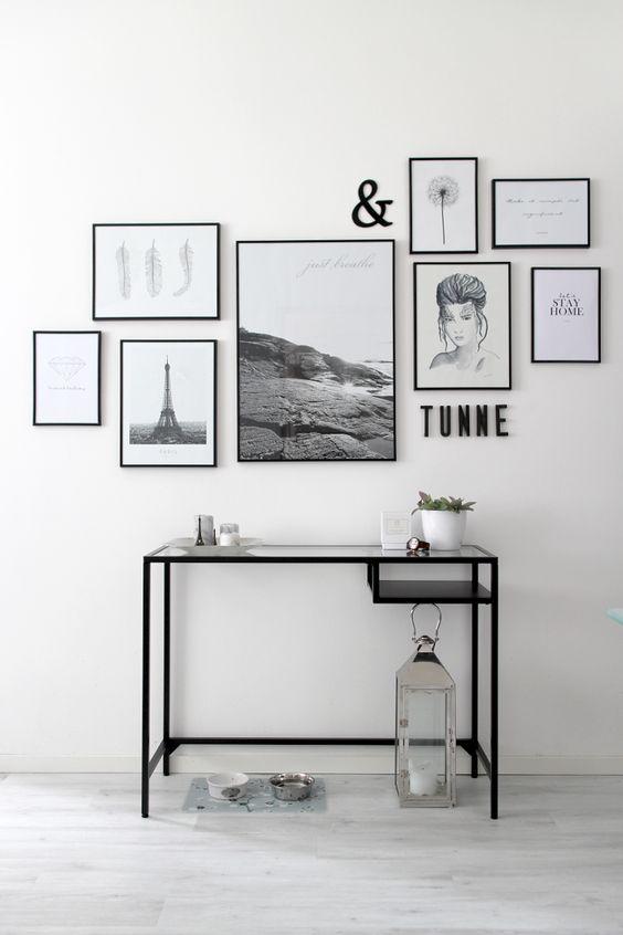 r ussir son gallery wall pierre papier ciseaux. Black Bedroom Furniture Sets. Home Design Ideas