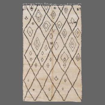 tapis beni ouarain inspiration tapis berbere