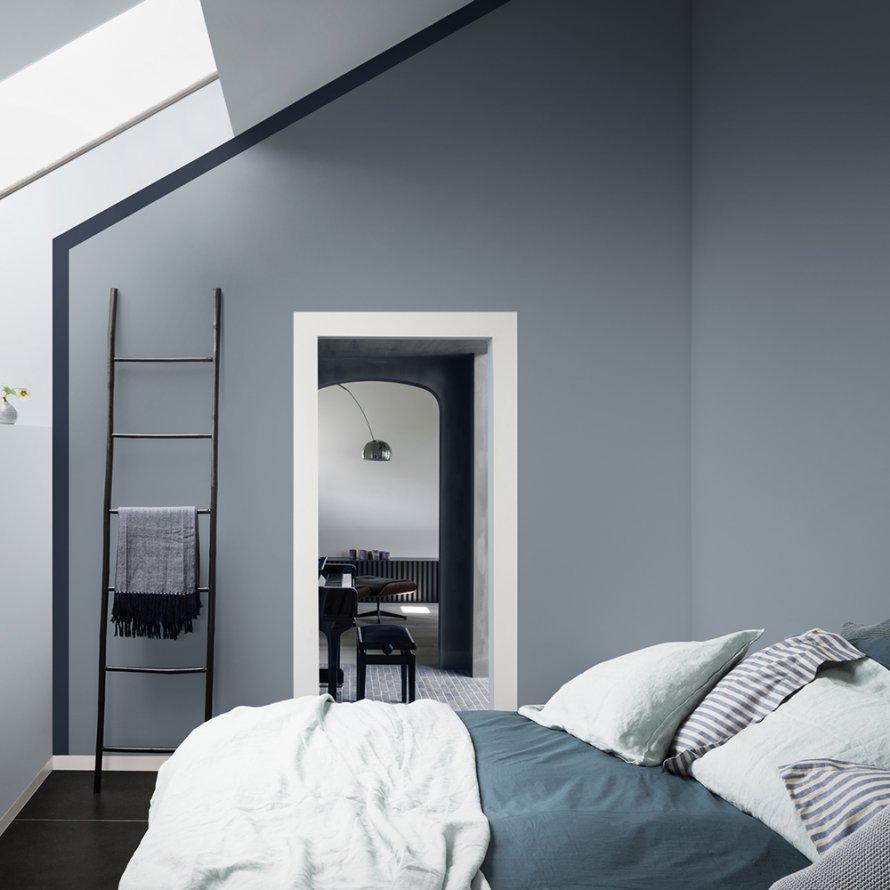 Chambre Bleu Ciel Et Lin 8 idées pour adopter bleu gris, couleur de l'année 2017
