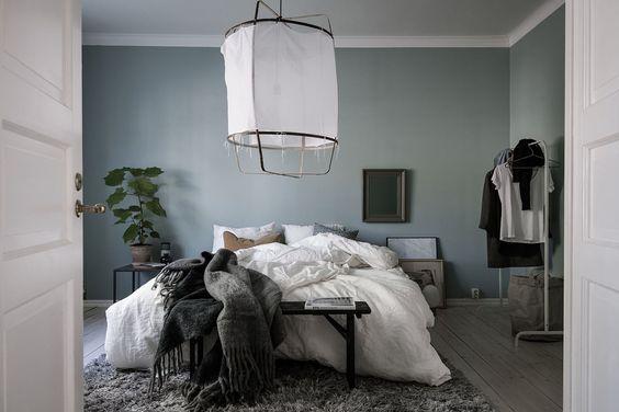 Épinglé par Marie Robi sur Couleur peinture | Chambre bleu ...