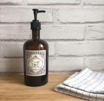 DIY #32 – Un distributeur à savon vintage