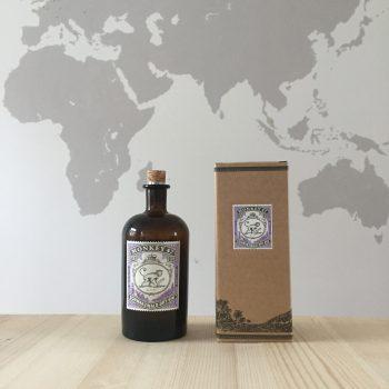 diy distributeur savon bouteille verre monkey 47