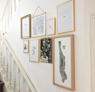 DIY #37 – Un gallery wall