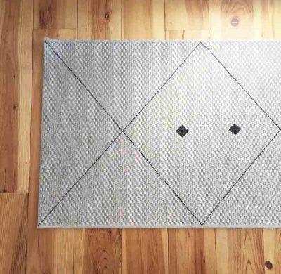 DIY #35 – Un tapis géométrique